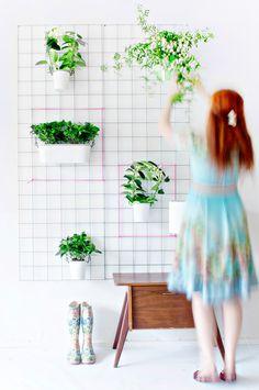 como fazer tela aramada para suporte de vasos