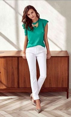 Stylish And Trendy Business Casual Outfit For Women 24 Business Casual Outfits For Women, Casual Work Outfits, Work Attire, Work Casual, Chic Outfits, Office Outfits, Office Wear, Office Attire, Business Attire