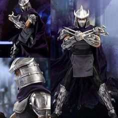 【Doll】#Shredder, the big villain from #TeenageMutantNinja Turtles, is now reimaged as a multi-joined figure! He also comes with different weapons. Must be so much fun! 【人偶】來自人氣漫畫「#忍者龜」的大反派#許瑞德,以多關節的模型登場!而且有不同武器可替換,趣味度提升!  http://www.e2046.com/p/25460/  #gk #gkfigure #figure #robot #garagekit #garage_kit #anime #comic #manga #model #模型 #手辦 #白模 #prepainted #塗裝完成品 #ori #gathering #ANTIHERO #pvc #resin #game #動漫