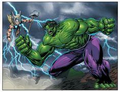 Thor vs.Hulk