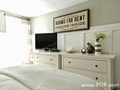 Master Bedroom Updated Tour Remember This Idea Putting Two Or