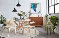 Felix Furniture on The Design Files | 'The Mota Dining Chair is probably the best example of our progress. It is unlike anything we have done before in form and purpose,' says Antonia. | Styling – Sarah Elshaug of Maitland Street Interiors at XO Studios. Photo – Stephanie Ronney
