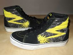 346fb3d82a VANS Hi Bad Brains Shoes. This VANS sneaker is a limited edition and  features allover Bad Brains design! Leather Canvas Hi Top.