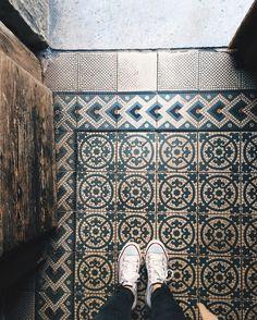 "Dragana on Instagram: ""#vscocam old tiles  #fromwhereistand #ihavethisthingwithfloors"""