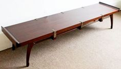 Mid-Century-Modern-Edmund-Spence-Solid-Mahogany-Low-Long-Coffee-Table-1953