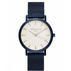 Blue ladies watch Mercer - blue mesh strap   ROSEFIELD Watches