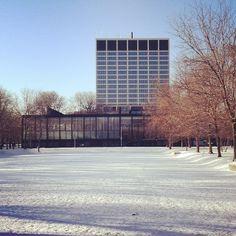 Illinois Institute of Technology, ontworpen door Mies von der Rohe