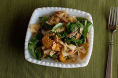 asian chicken pasta salad using rotisserie chicken...trying this for sure!