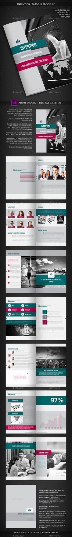 Gate Fold Interior Brochure-V458 Template, Creative and Brochure - microsoft word brochure templates free download