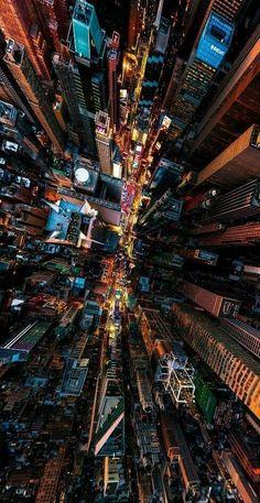 Vista de Cima - Paisagem Urbana - Cidade - Prédios #streetartnewyorkphotography