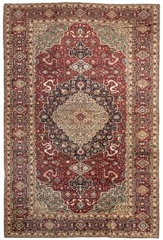 Hereke Turkish Rug Number 10769, Antique Turkish Rugs | Woven Accents
