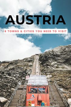 8 Unmissable Towns & Cities To Visit In Austria Europe Travel Outfits, Europe Travel Guide, Travel Guides, Cool Places To Visit, Places To Travel, Travel Destinations, European Destination, European Travel, Berlin