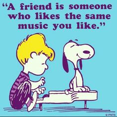 It's getting rare, but i love finding someone who likes the music I like!