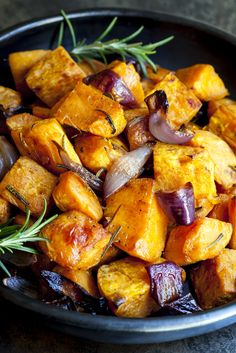 Zoete aardappel uit de oven, zonder zout // Francesca Kookt
