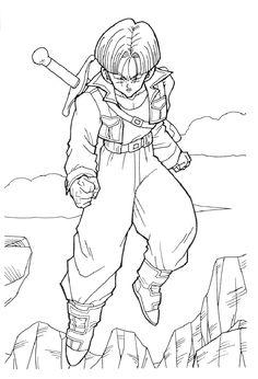 coloring page Dragon Ball Z - Dragon Ball Z