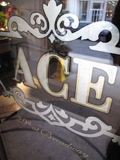 Outdoors: Gilded House Numbers by See.Painting