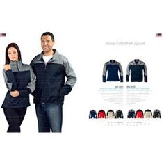 Branded US Basic Attica Shoft Shell Jacket - Men's Corporate Outfits, Corporate Gifts, Promotional Clothing, S Models, Winter Season, Shell, Winter Jackets, Logo, Clothes