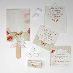 Coordinato farfalle vintage