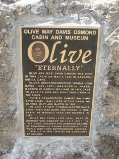 Olive May Davis Osmond