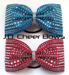The Morgan Tailless Cheer Bow Many Colors Tuxedo Bows