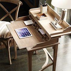 Handmade Campaign Writing Desk, Small - Wood