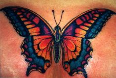 colorful #butterfly #tattoo