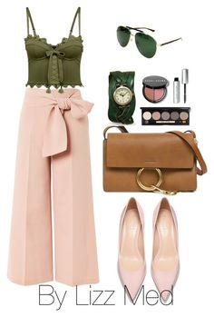 """""""Working"""" by lizz-med ❤ liked on Polyvore featuring Topshop, Puma, Chloé, Gucci and Bobbi Brown Cosmetics"""