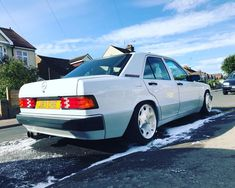 Mercedes Benz 190, Jdm Cars, Slammed, Cars And Motorcycles, Cool Cars, German, Friends, Baby, Inspiration