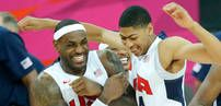 TEAM USA WINS GOLD IN MEN'S HOOPS