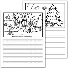 Compose une histoire, lutin maladroit / Write your story, clumsy elf Theme: Noël, Christmas Core French, French Class, Speech Therapy Activities, Class Activities, Amelie Pepin, French Immersion, Elementary Education, Christmas Art, Writing Inspiration