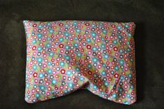 Soulwarmers Microwavable Corn Heating/Cooling Bag - Riley Blake Alphabet Soup Pink Flowers.