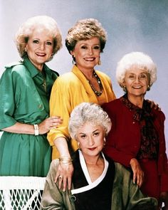The Golden Girls ❤ -has to be my favorite show ever, I can watch it non-stop.