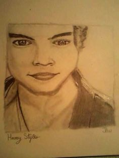 Harry Styles Drawing