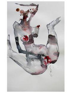 "Saatchi Art Artist Dong Li-Blackwell; Painting, ""lady X No.63"" #art"