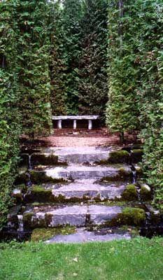 Les quatre vents the kitchen gardens francis h cabot for Jardin 4 vents charlevoix