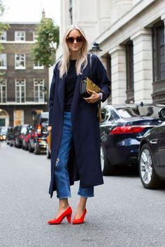 London Fashion Week #LFW SS17 Street Style | September 2016