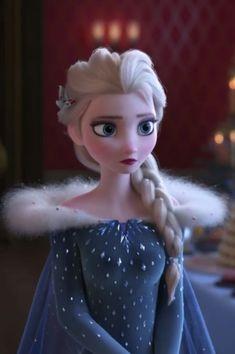 Elsa in Olaf's Frozen Adventure
