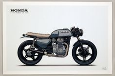 Moto-Mucci: ART: Ian Galvin CX500 Illustrated Prints