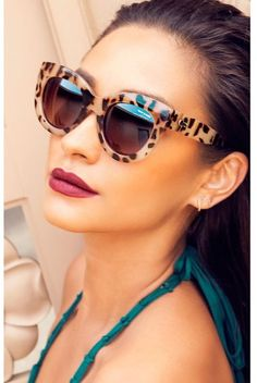 Quay Eyeware Quay Eyewear Jinx Sunglasses in Desert Leopard as seen on Shay Mitchell and Jamie Chung Sunnies, Quay Sunglasses, Ray Ban Sunglasses Sale, Sunglasses Outlet, Mirrored Sunglasses, Sunglasses Women, Sports Sunglasses, Sunglasses Accessories, Italian Sunglasses