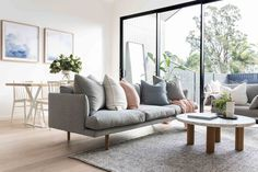 20 Lovely Living Room Design Ideas for 2019 - Rearwad Living Room Grey, Home Living, Small Living, Living Room Furniture, Living Room Decor, Modern Furniture, Kitchen Living, Outdoor Furniture, Home Interior