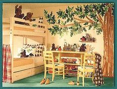 Decorating ideas for boys sharing bedrooms.