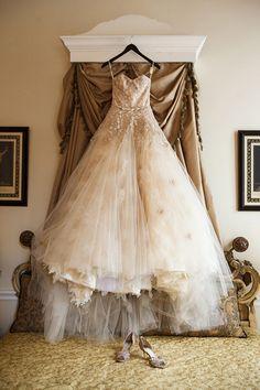 Austin Goff Wedding | KarlischStudio Hanging Wedding Dress, Wedding Dresses, Wedding Inspiration, Bride, Classic, Unique, How To Wear, Weddings, Fashion