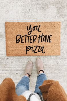 For the pizza lover's home.