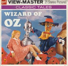 The Wizard of Oz View-Master reels - 1957