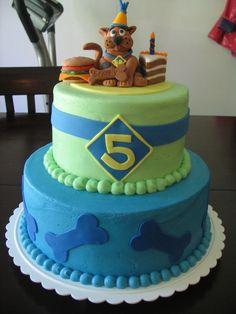 Eli's scooby doo cake