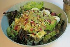 Foto de la receta de ensalada de pollo con queso gouda y mostaza de dijon
