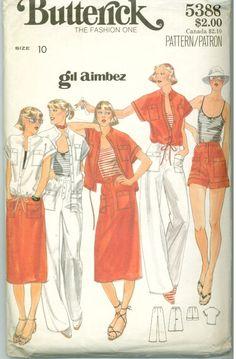 Gil Aimbez, 1970's, Butterick 5388