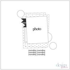 design by diana: Tonsils {scrapbook circle sketch challenge}