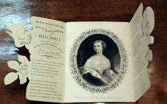 Invitation for the wedding of Empress Elisabeth and Emperor Franz Josef I.