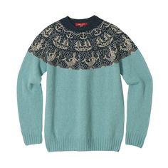 Knitwear – Merman sweater seagrass Donna Wilson